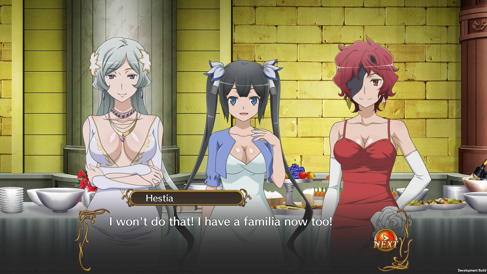 Danmachi Screenshot