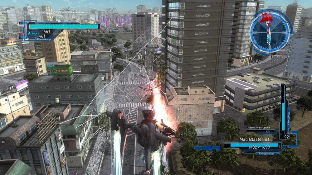 Earth Defence Force Screenshot