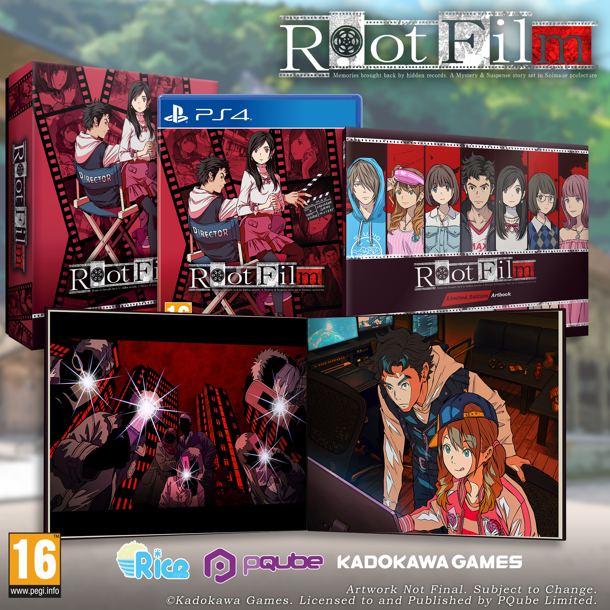 Root Film PS4 Special Edition