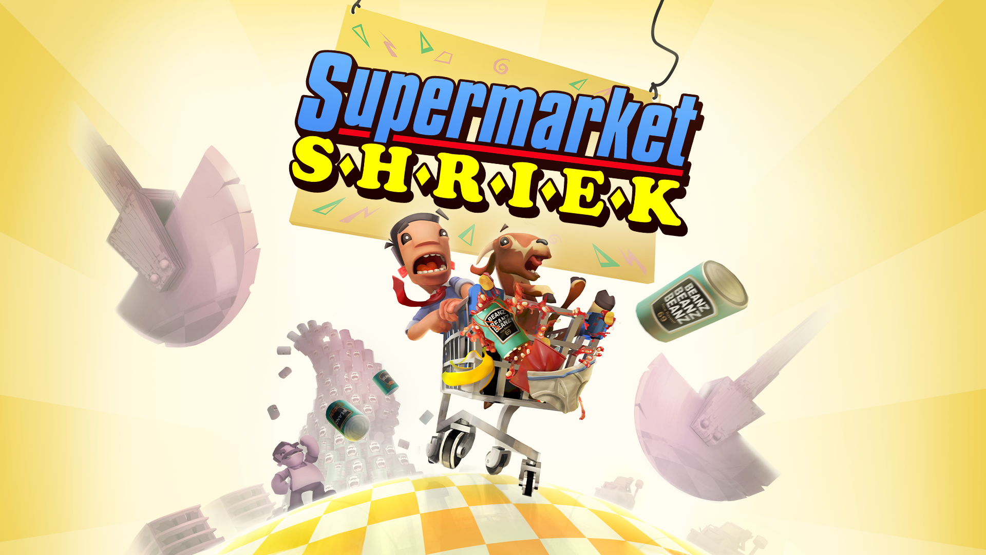 Supermarket Shriek is OUT NOW on PS4, Nintendo Switch & Steam!