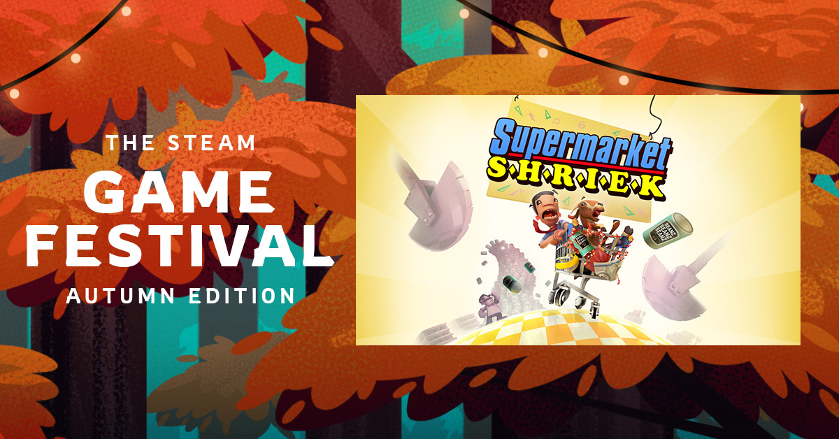 Experience Supermarket Shriek for FREE at the #steamgamefestival