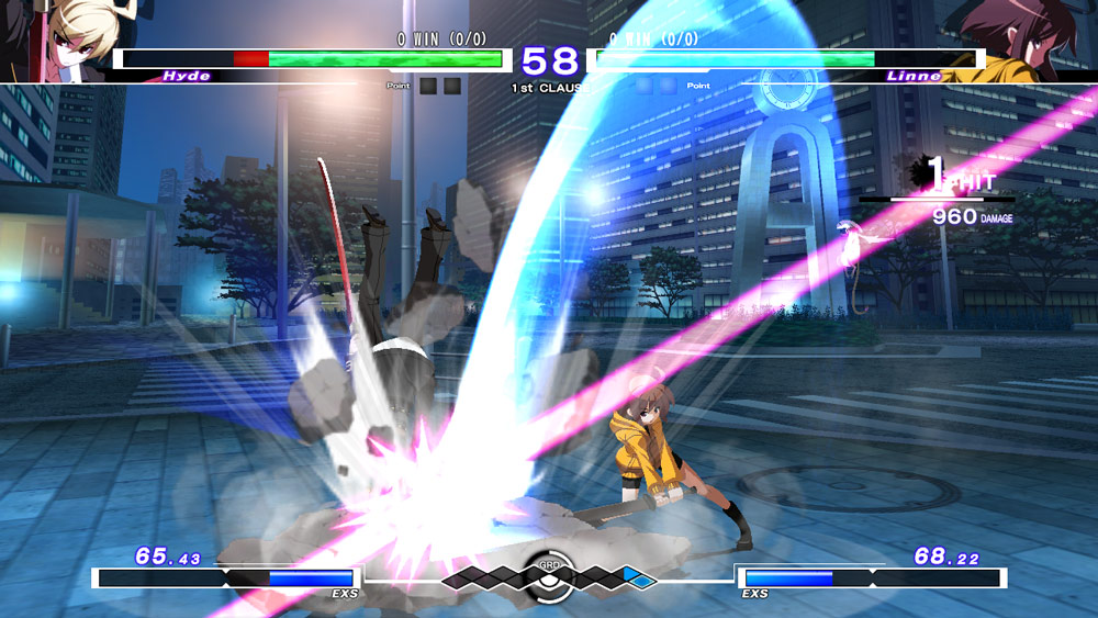 Under Night In-Birth Exe:Late[cl-r]   - Screenshot