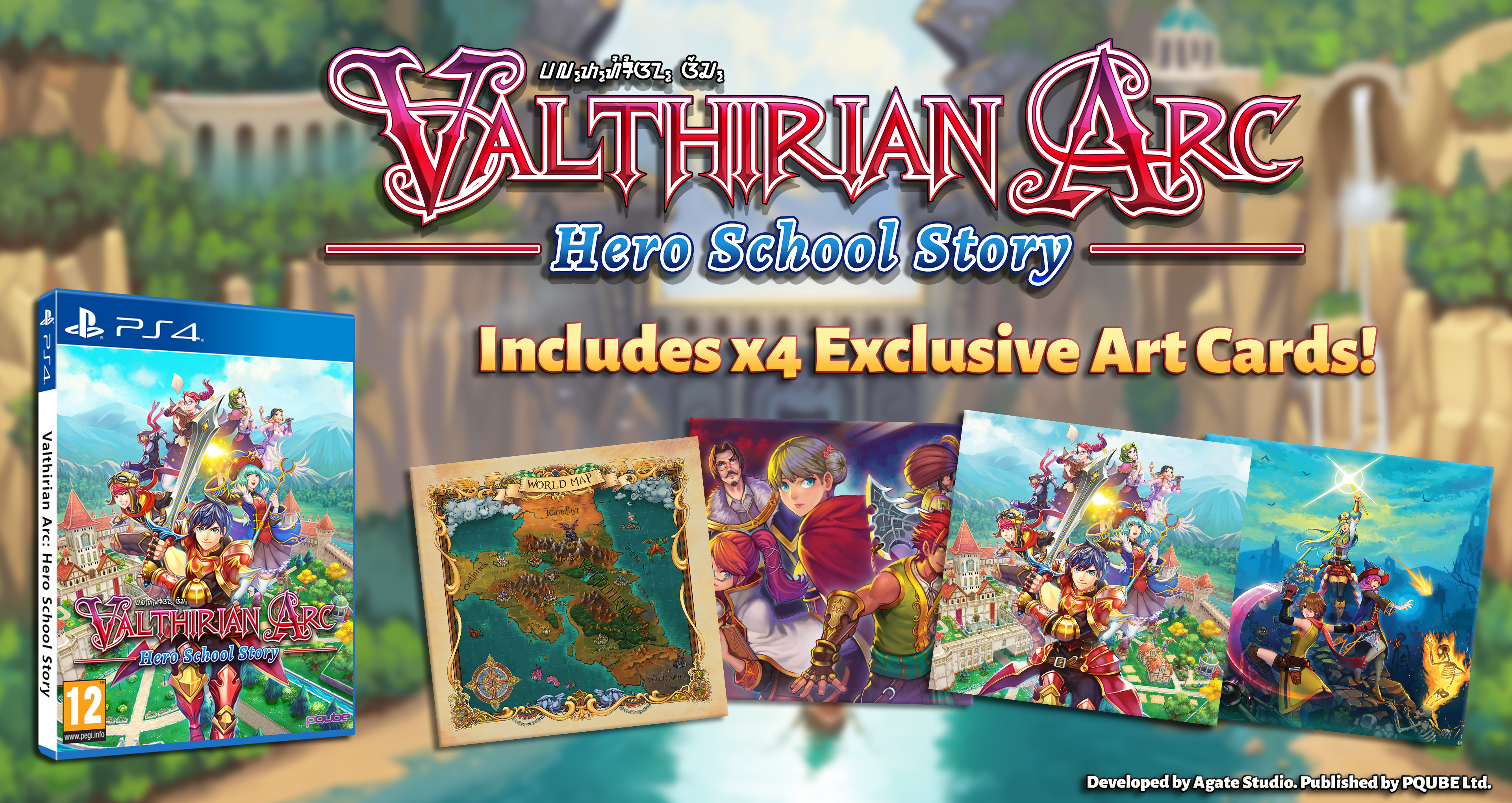 Valthirian Arc - Screenshot 1