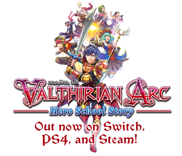 Valthirian Arc - Characters